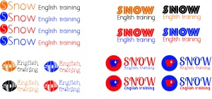 logo Snow English training